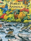 LG Coloring Book: Forest Animals