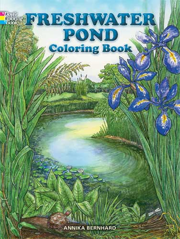 LG Coloring Book: Freshwater Pond