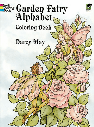 LG Coloring Book: Garden Fairy Alphabet