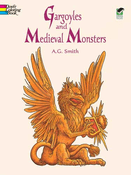LG Coloring Book: Gargoyles & Mythical Monsters