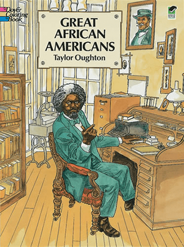 LG Coloring Book: Great African Americans