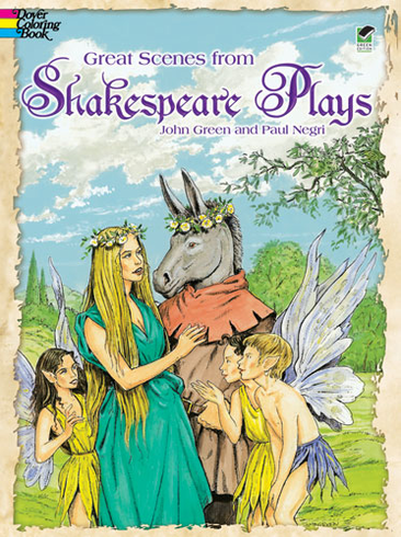 LG Coloring Book: Great Scenes from Shakespeare's Plays