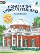 LG Coloring Book: Homes of the Presidents