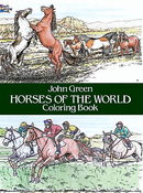 LG Coloring Book: Horses of the World