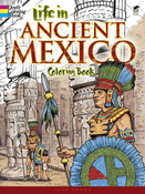 LG Coloring Book: Life in Ancient Mexico