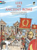 LG Coloring Book: Life in Ancient Rome