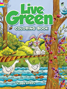 LG Coloring Book: Live Green
