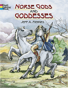 LG Coloring Book: Norse Gods & Goddesses