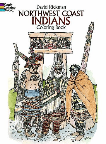 LG Coloring Book: NW Coast Indians