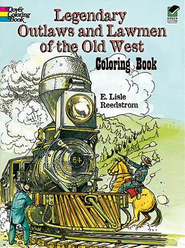 LG Coloring Book: Outlaws and Lawmen