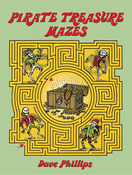 LG Coloring Book: Pirate Treasure Mazes