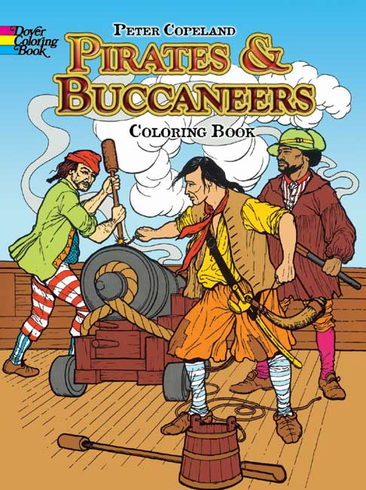 LG Coloring Book: Pirates & Buccaneers