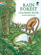 LG Coloring Book: Rain Forest