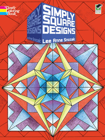 LG Coloring Book: Simply Square Designs
