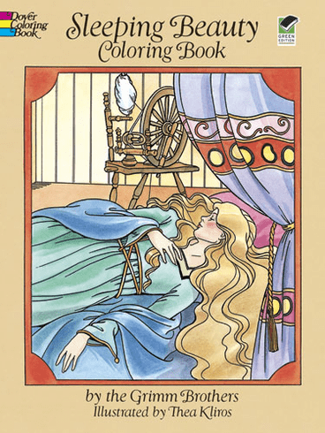 LG Coloring Book: Sleeping Beauty