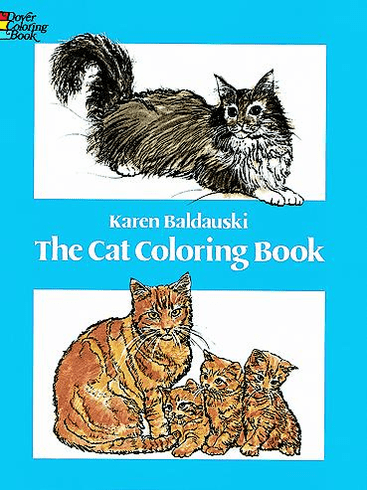 LG Coloring Book: The Cat