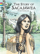 LG Coloring Book: The Story of Sacajawea