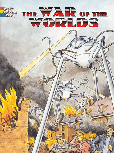 LG Coloring Book: The War of the Worlds