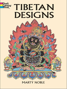 LG Coloring Book: Tibetan Designs