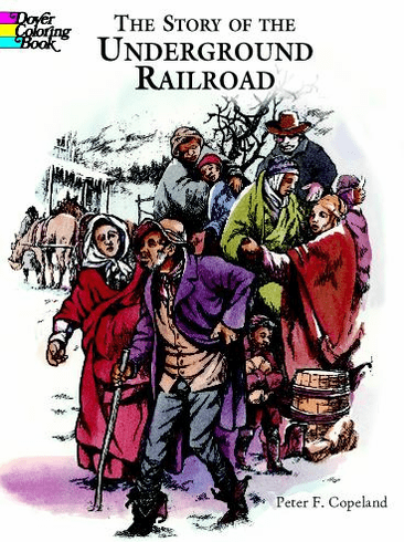 LG Coloring Book: Underground Railroad