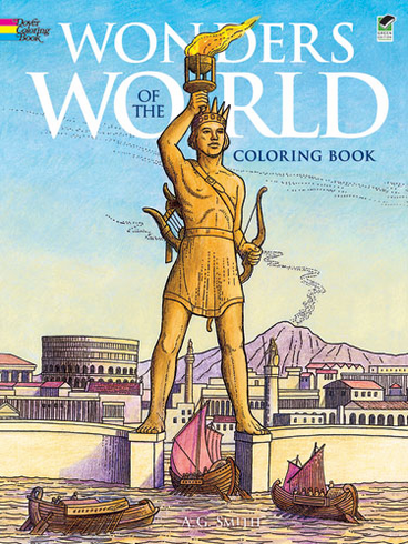 LG Coloring Book: Wonders of the World
