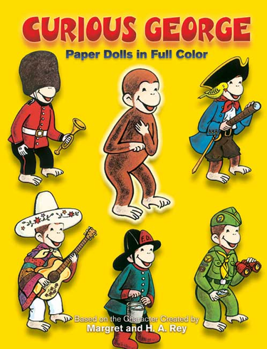 LG Paper Dolls: Curious George