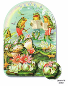 LG SINGING FROG CARD -
