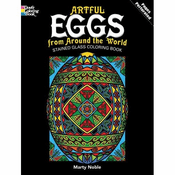 LG Stained Glass Coloring Book: Artful Eggs