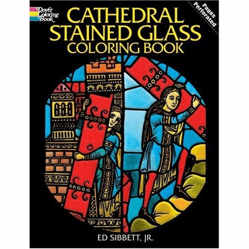LG Stained Glass Coloring Book: Cathedral