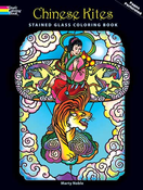 LG Stained Glass Coloring Book: Chinese Kites