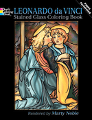 LG Stained Glass Coloring Book: Leonardo Da Vinci