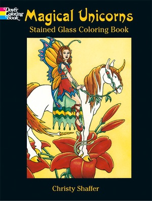LG Stained Glass Coloring Book: Magical Unicorns