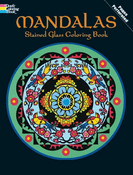 LG Stained Glass Coloring Book: Mandalas