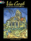 LG Stained Glass Coloring Book: Van Gogh