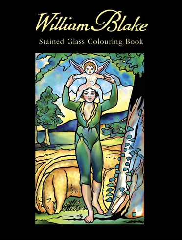 LG Stained Glass Coloring Book: William Blake