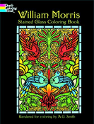 LG Stained Glass Coloring Book: William Morris