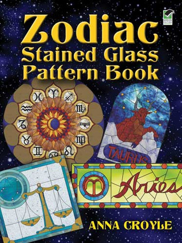 LG Stained Glass Coloring Book: Zodiac