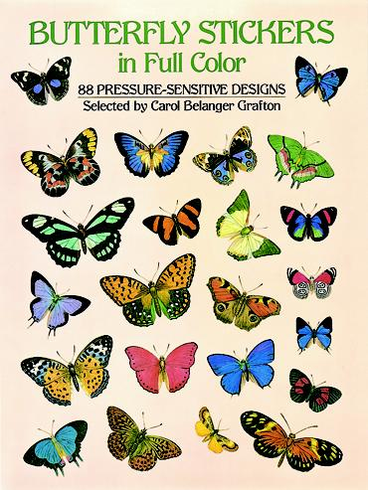 LG Sticker Book: Butterflies