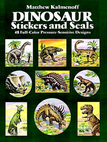 LG Sticker Book: Dinosaurs