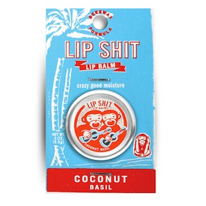 Lip Shit Lip Balm Coconut Basil