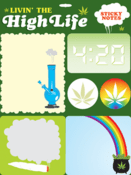 Livin' the High Life Sticky Notes