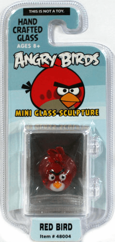 Looking Glass Angry Birds Red