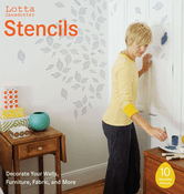 Lotta Jansdotter Stencils: Decorate Your Walls, Furniture, Fabric, and More