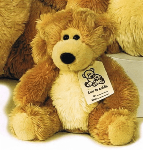 "Love to Cuddle 8"" Honey Color Teddy Bear"