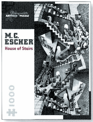 M.C. Escher: House of Stairs