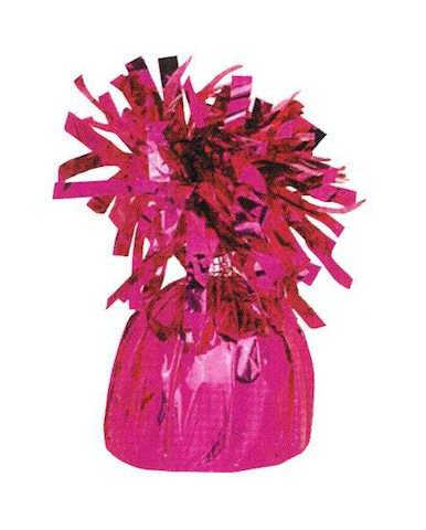 Magenta Foil Balloon Weight