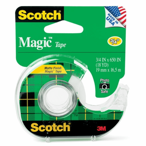 Magic Tape 0.75 in x 650in