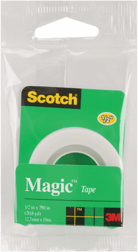 "Magic Tape Refill 0.5"" x 750"""