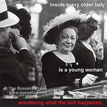 Magnet: Every Older Lady