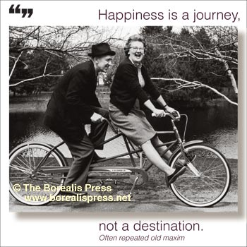 Magnet: Happiness Is A Journey